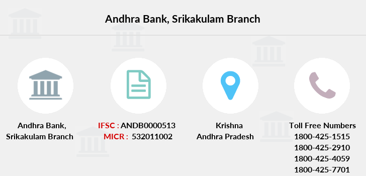 Andhra-bank Srikakulam branch
