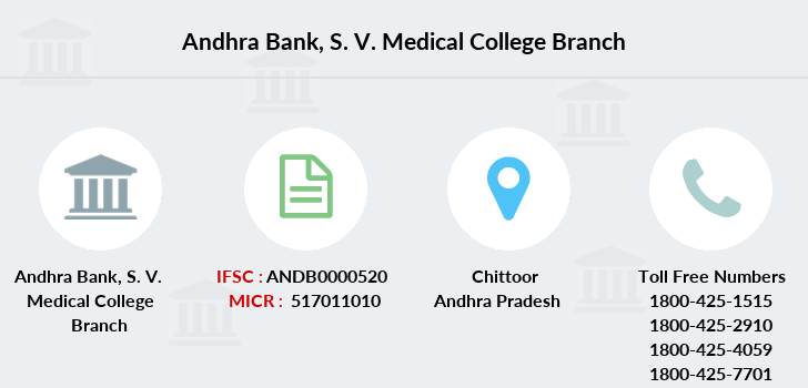 Andhra-bank S-v-medical-college branch