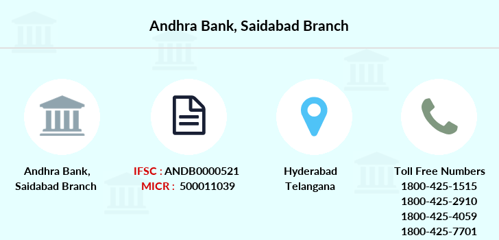 Andhra-bank Saidabad branch