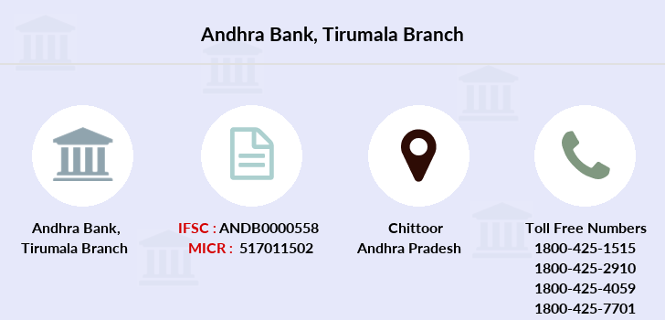 Andhra-bank Tirumala branch
