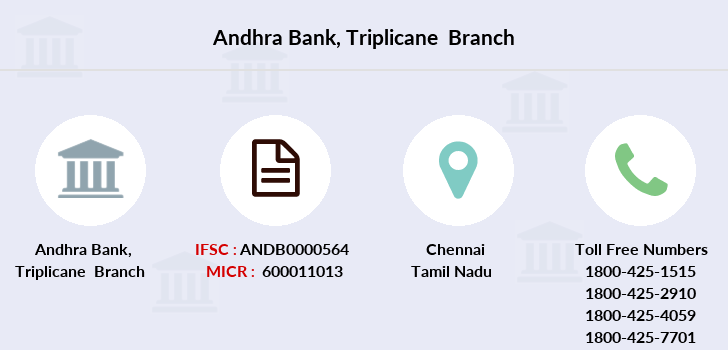 Andhra-bank Triplicane branch