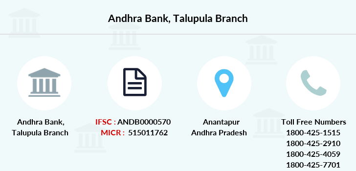 Andhra-bank Talupula branch