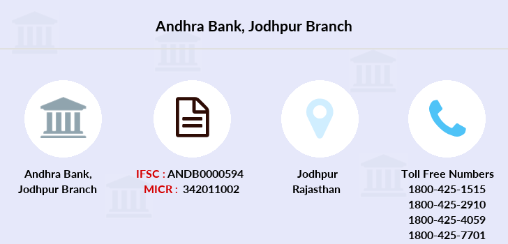 Andhra-bank Jodhpur branch