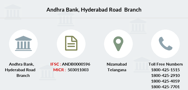 Andhra-bank Hyderabad-road branch