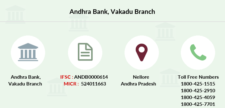 Andhra-bank Vakadu branch