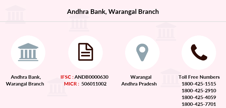 Andhra-bank Warangal branch