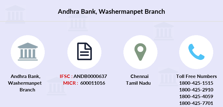 Andhra-bank Washermanpet branch