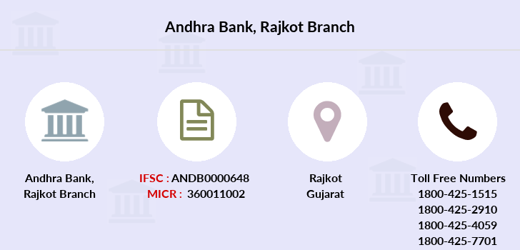 Andhra-bank Rajkot branch