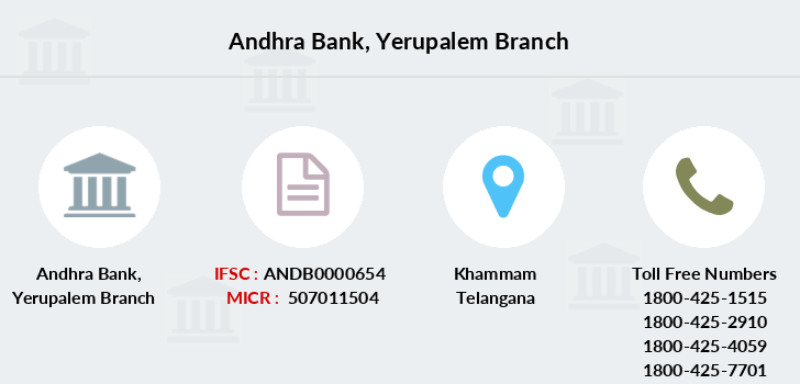 Andhra-bank Yerupalem branch