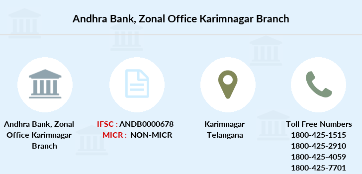 Andhra-bank Zonal-office-karimnagar branch