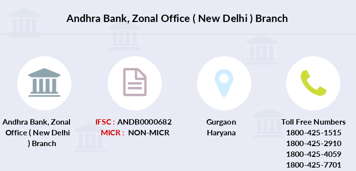 Andhra-bank Zonal-office-new-delhi branch