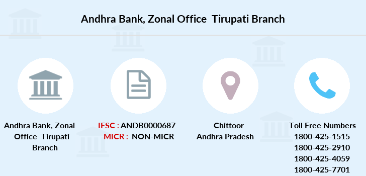 Andhra-bank Zonal-office-tirupati branch