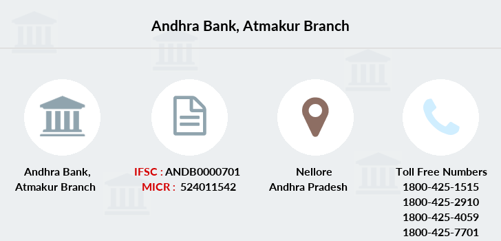 Andhra-bank Atmakur branch