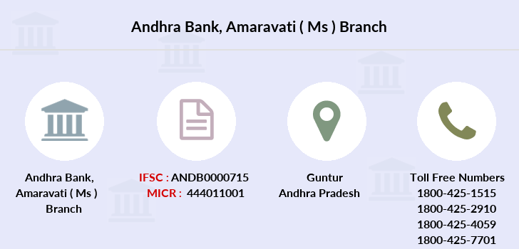 Andhra-bank Amaravati-ms branch