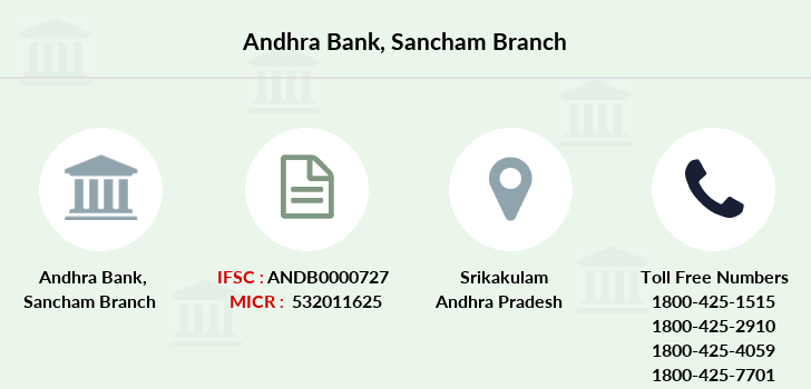 Andhra-bank Sancham branch