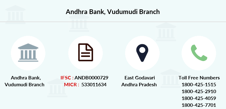 Andhra-bank Vudumudi branch