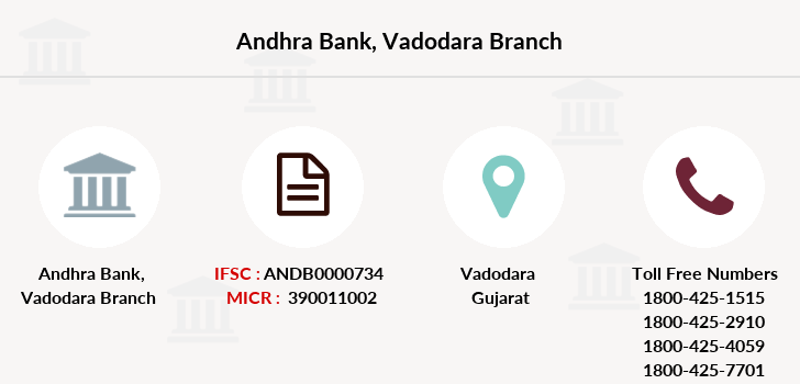 Andhra-bank Vadodara branch