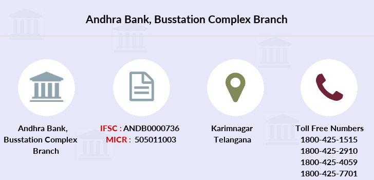 Andhra-bank Busstation-complex branch