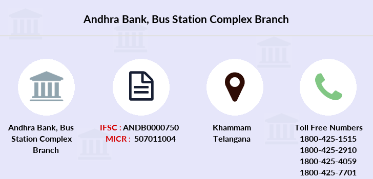 Andhra-bank Bus-station-complex branch