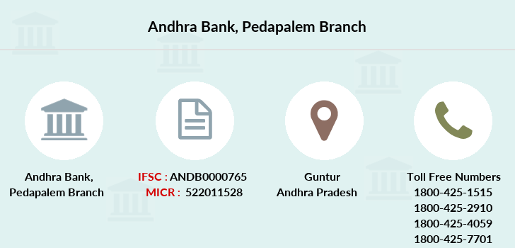 Andhra-bank Pedapalem branch