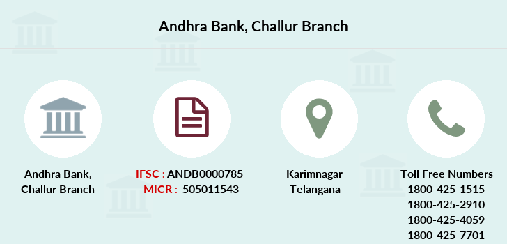 Andhra-bank Challur branch