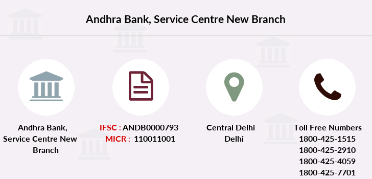 Andhra-bank Service-centre-new branch