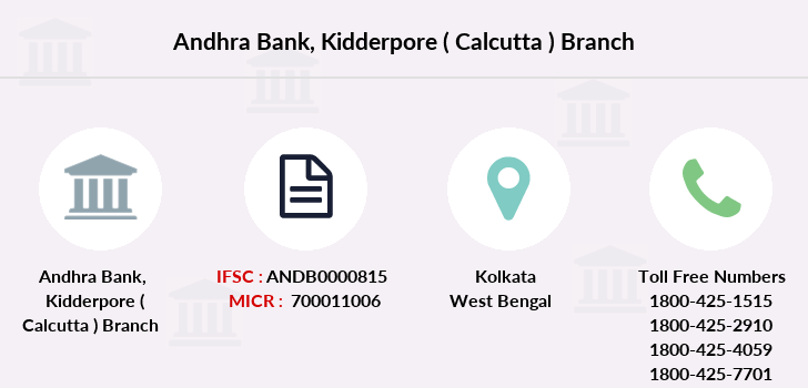 Andhra-bank Kidderpore-calcutta branch