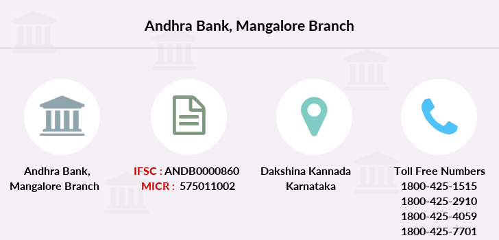 Andhra-bank Mangalore branch