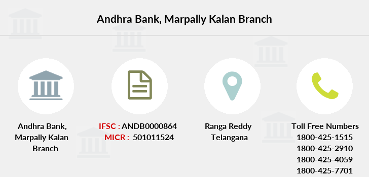 Andhra-bank Marpally-kalan branch