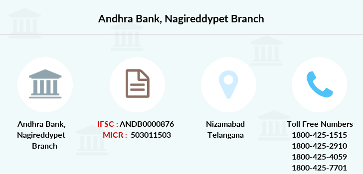 Andhra-bank Nagireddypet branch