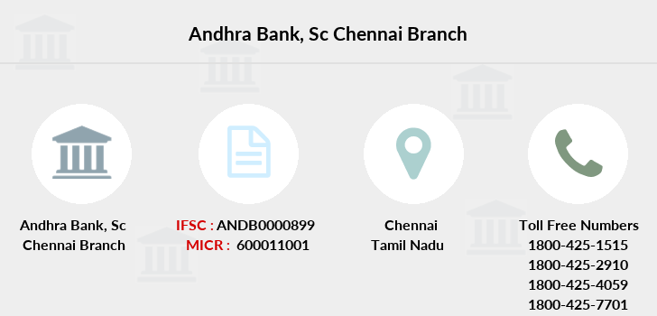 Andhra-bank Sc-chennai branch