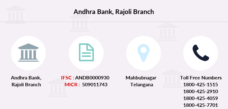 Andhra-bank Rajoli branch