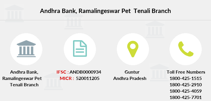 Andhra-bank Ramalingeswar-pet-tenali branch