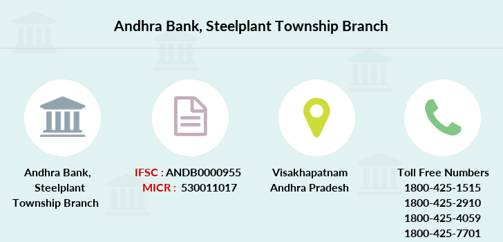 Andhra-bank Steelplant-township branch