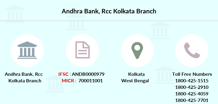 Andhra-bank Rcc-kolkata branch