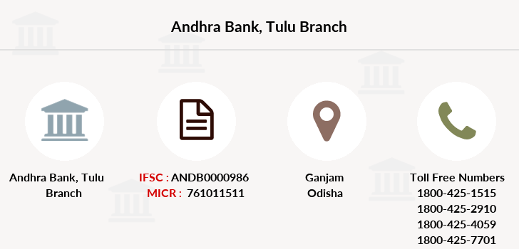 Andhra-bank Tulu branch