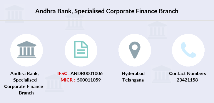 Andhra-bank Specialised-corporate-finance branch