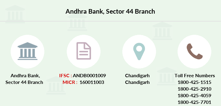 Andhra-bank Sector-44 branch