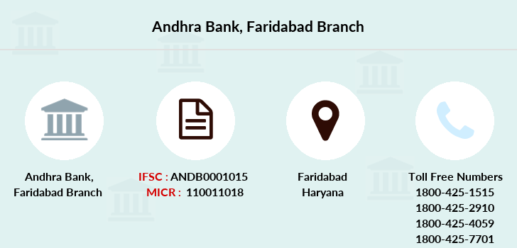 Andhra-bank Faridabad branch