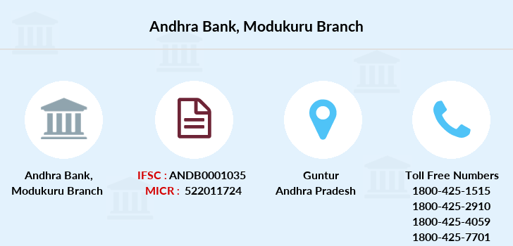 Andhra-bank Modukuru branch
