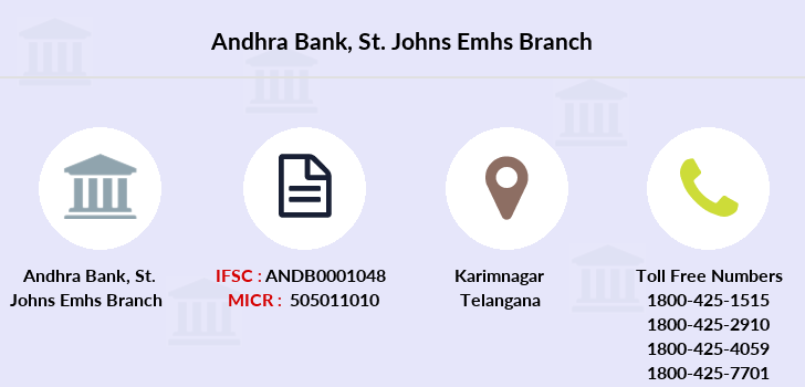 Andhra-bank St-johns-emhs branch