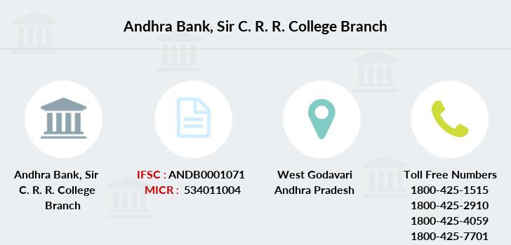 Andhra-bank Sir-c-r-r-college branch