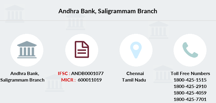 Andhra-bank Saligrammam branch