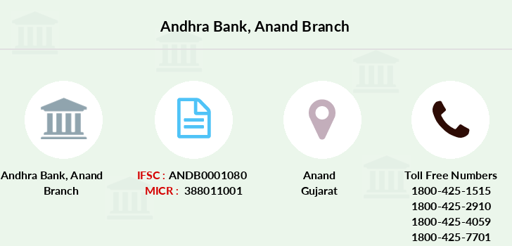 Andhra-bank Anand branch