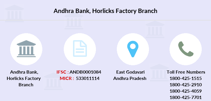 Andhra-bank Horlicks-factory branch