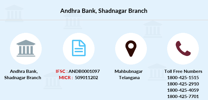 Andhra-bank Shadnagar branch