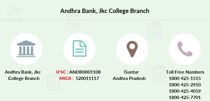 Andhra-bank Jkc-college branch