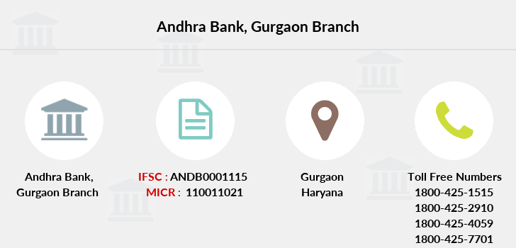 Andhra-bank Gurgaon branch