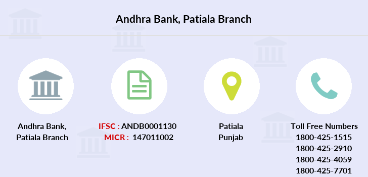 Andhra-bank Patiala branch