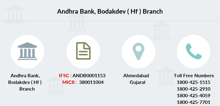 Andhra-bank Bodakdev-hf branch